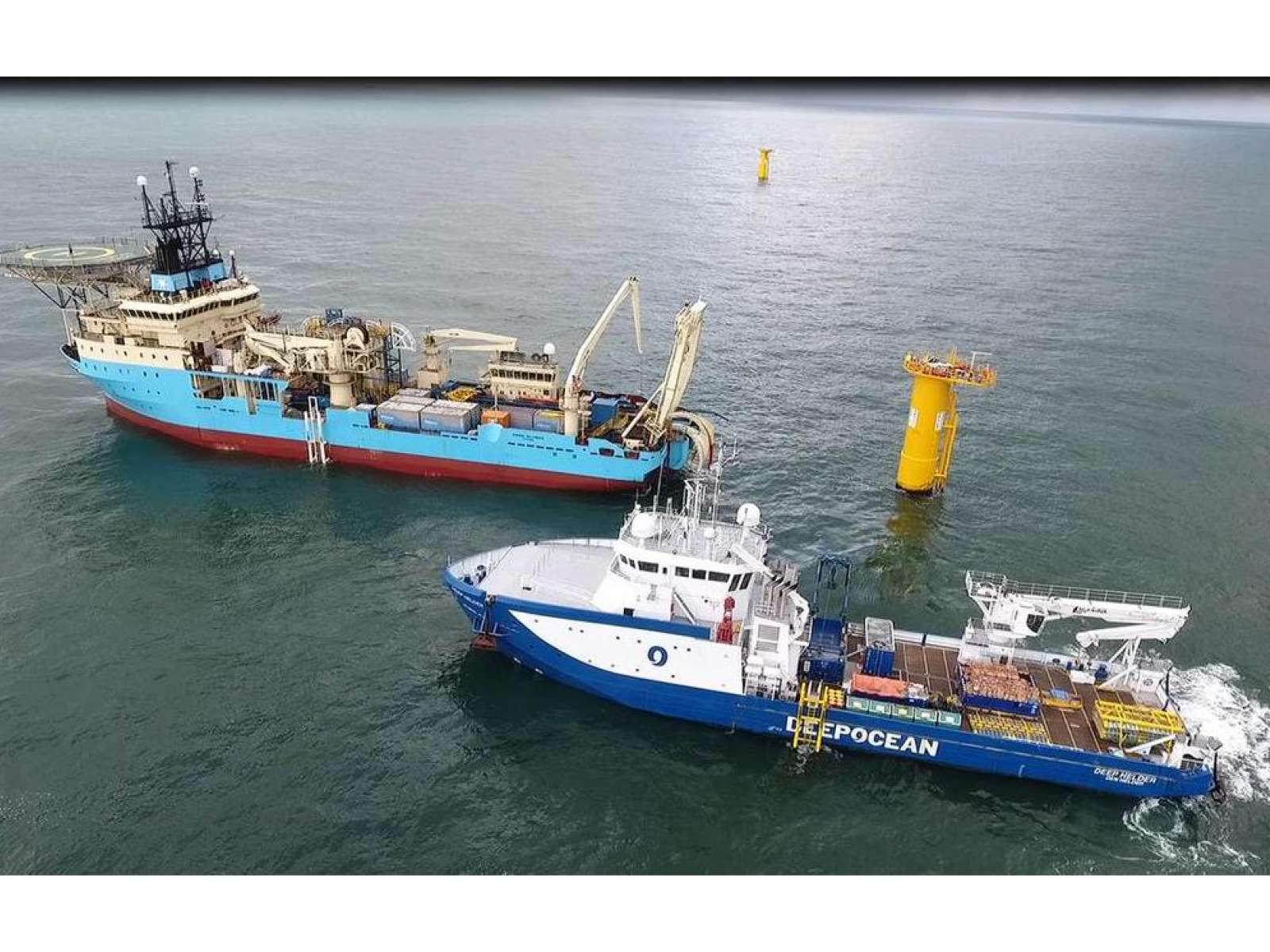 DeepOcean started the Nemo Link project, using nCentric equipment