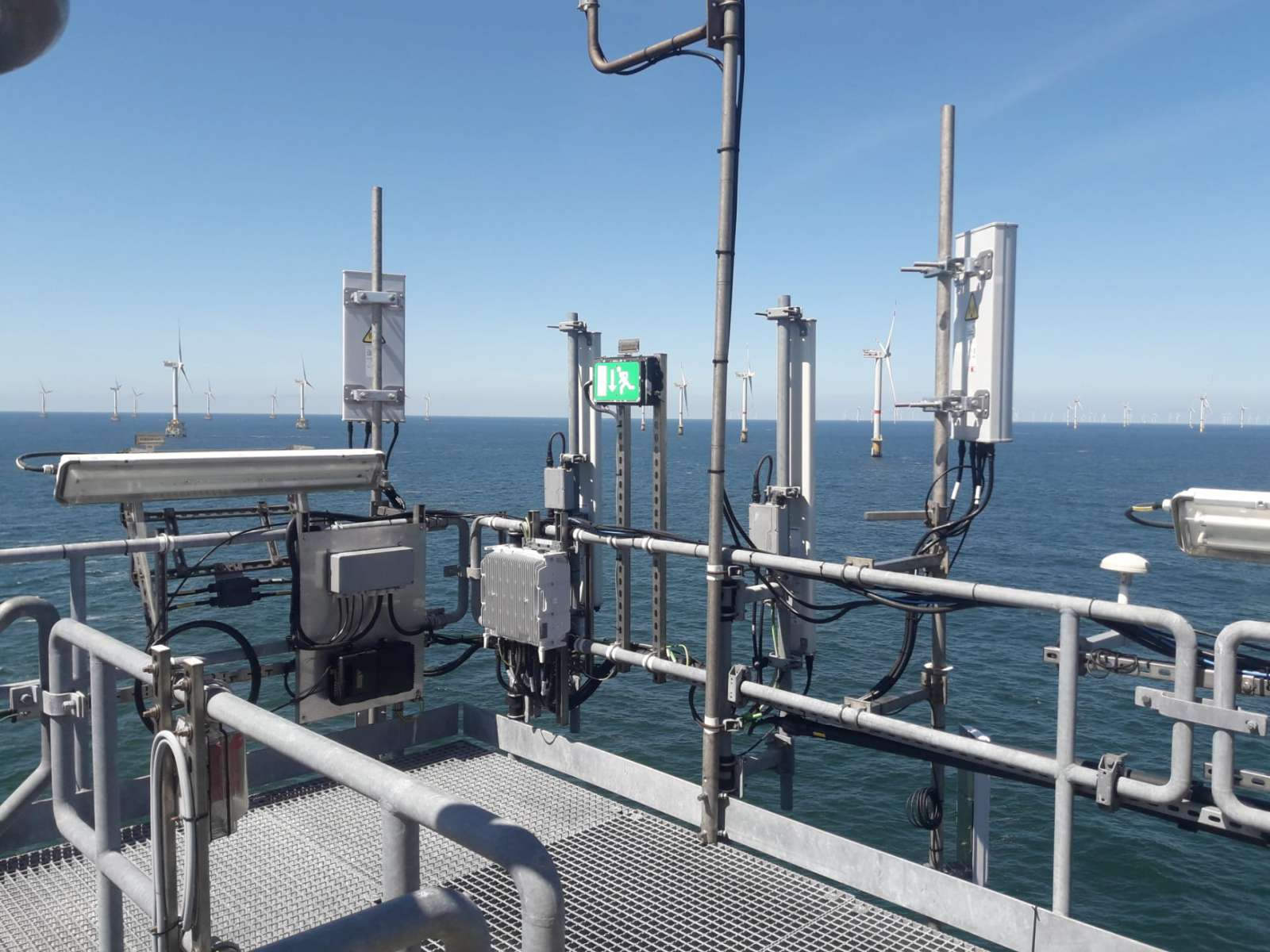 nCentric  5G ready in Belgian North Sea