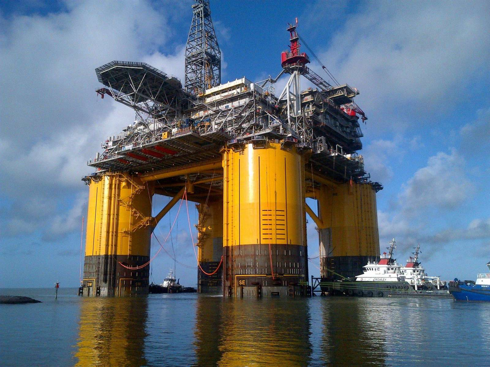 nCentric assists in Shell Olympus project.