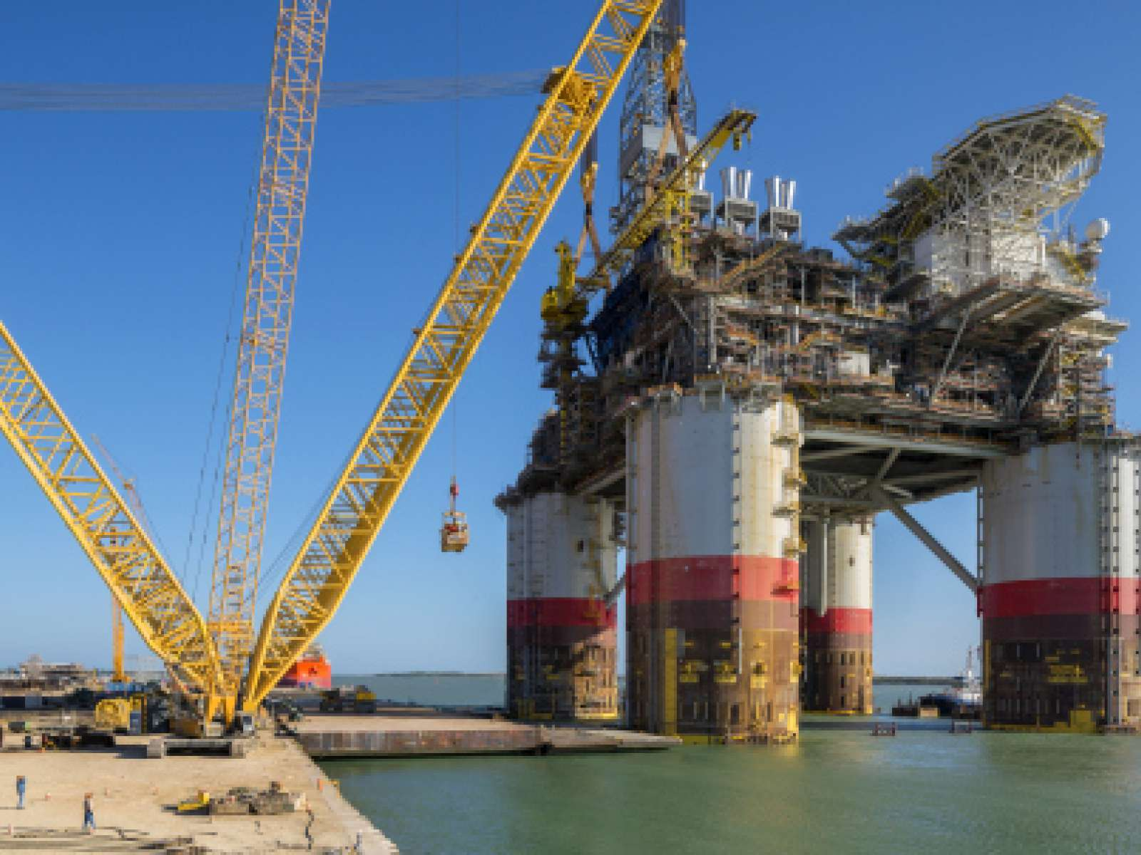 nCentric chosen as wireless communication partner by Heerema Marine Contractors for installation of Chevron's Big Foot.