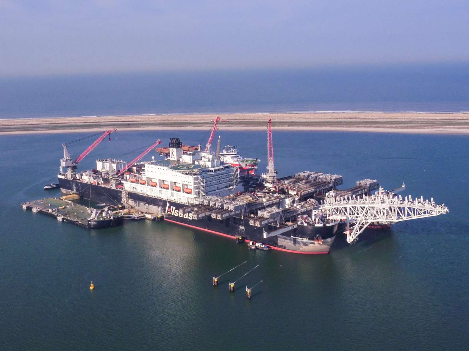 nCentric in cooperation with Allseas in Turksteam project